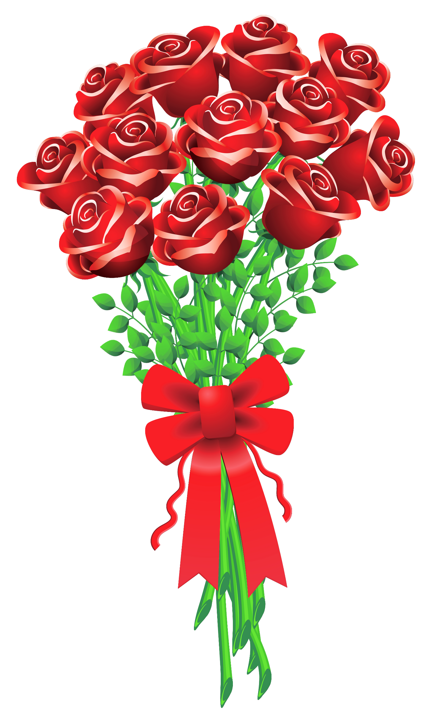 Valentines day roses j. Heart clipart bouquet