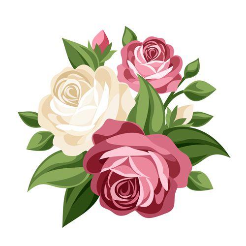 Elegant flowers free download. Bouquet clipart vector flower