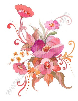 Free downloads floral clip. Bouquet clipart vector flower