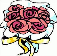 Free. Bouquet clipart wedding bouquet