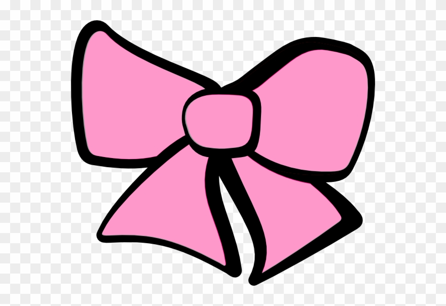 Cheer girls hair clip. Bow clipart
