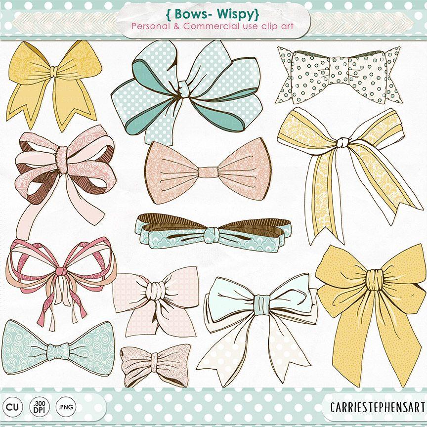 Bow clipart birthday. Wispy clip art tie