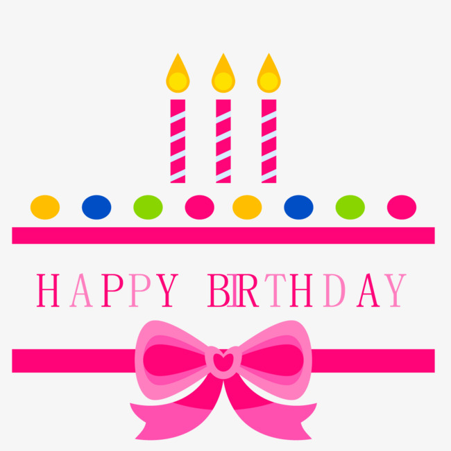 Bows clipart birthday. Happy label tag candle