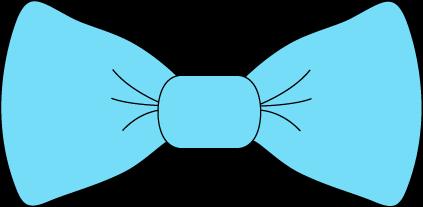 Light bow clip art. Blue clipart neck tie