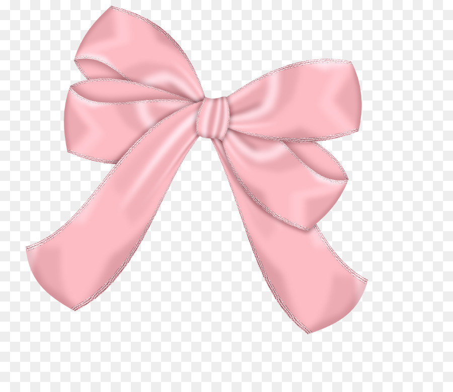 Ribbon drawing paper pink. Bow clipart bowknot