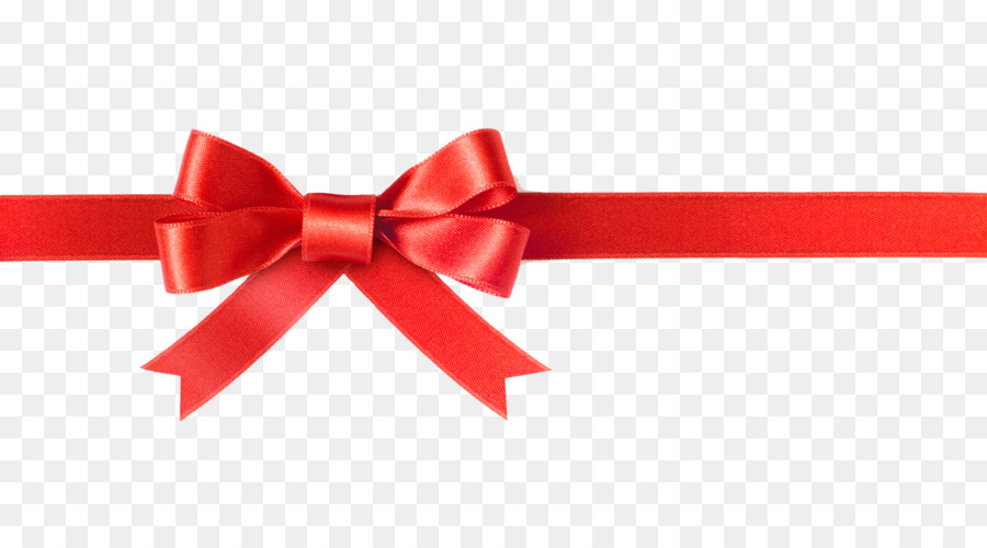 Bow clipart bowknot. Red ribbon christmas gift