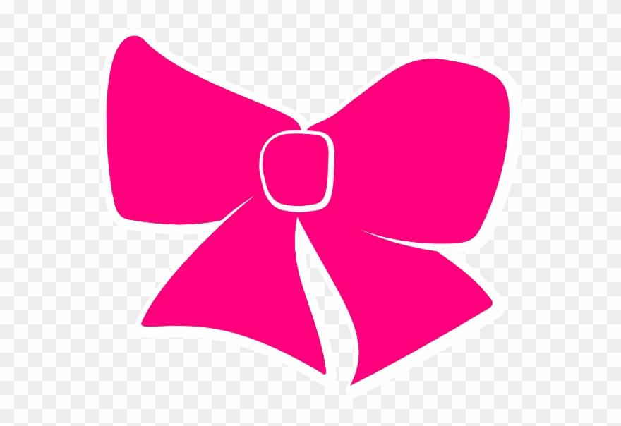 Bow clipart cheer bow. Hair clip art pink