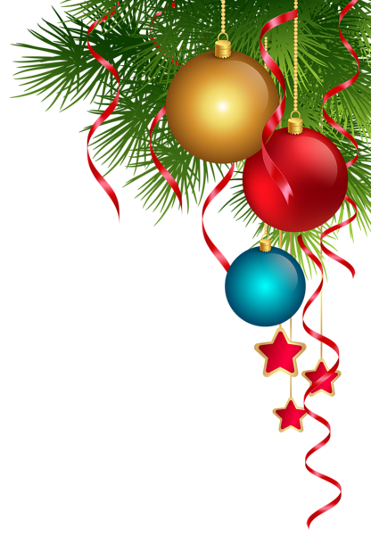 Bows clipart christmas tree decoration. Transparent png clip art