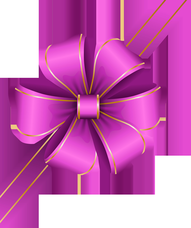Clipart bow corner. Decorative pink transparent png