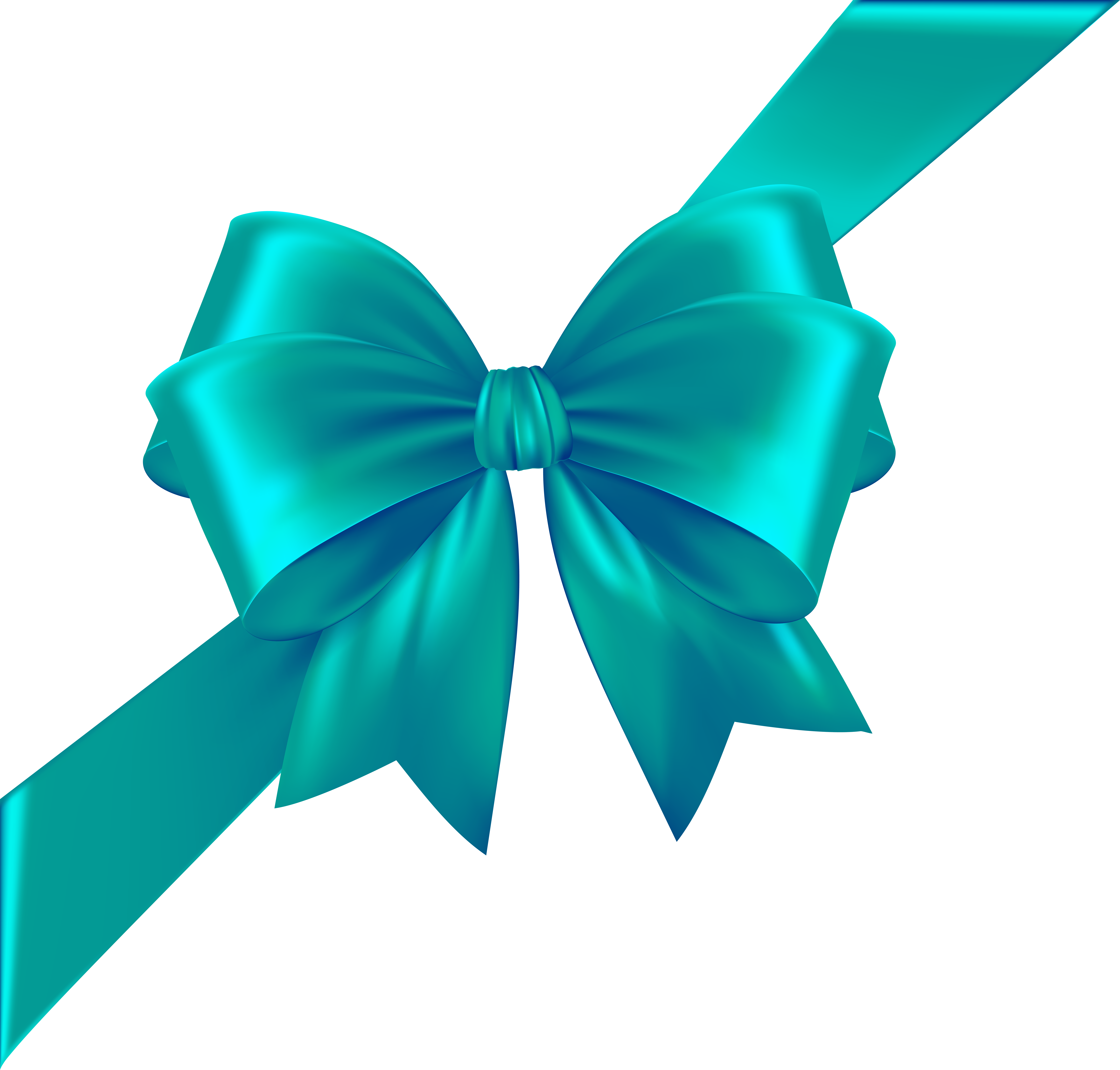 Bows clipart corner. Bow with ribbon blue