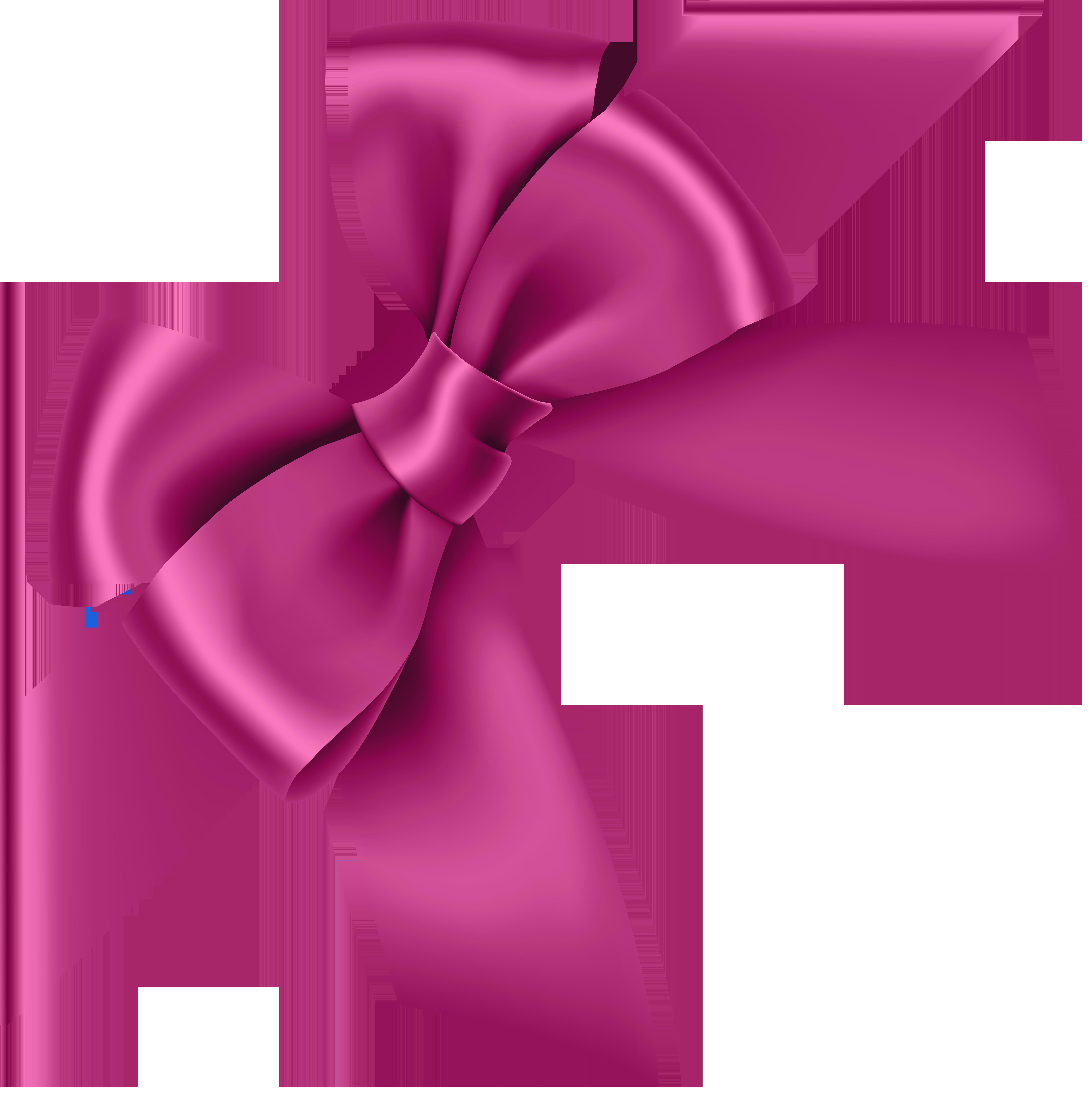 Pink transparent clip art. Clipart bow corner