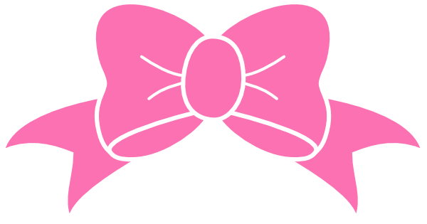 Free download clip art. Bow clipart cute