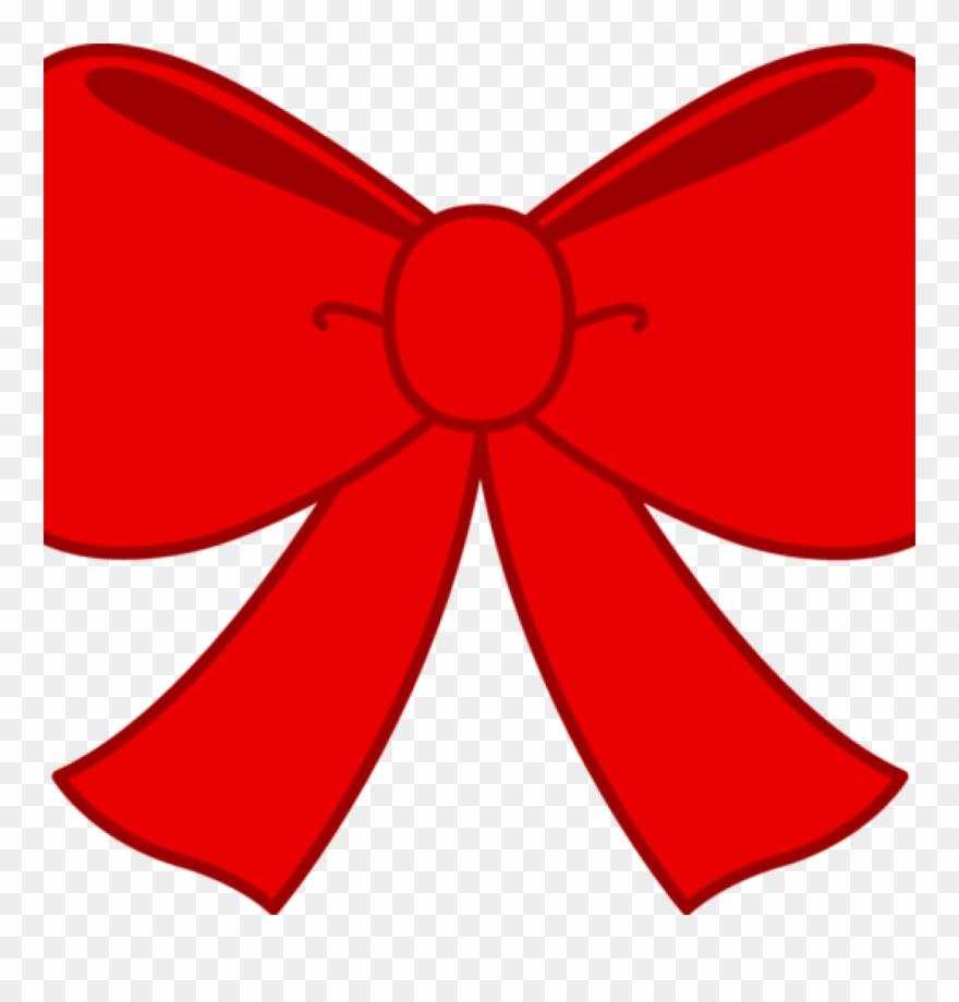 Bow clipart cute. Red free clip art