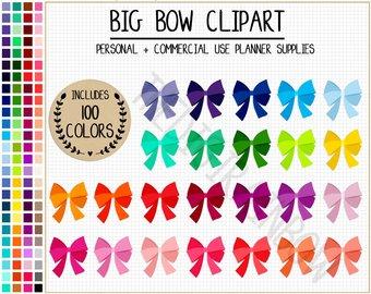Ribbon etsy sale sticker. Bow clipart cute