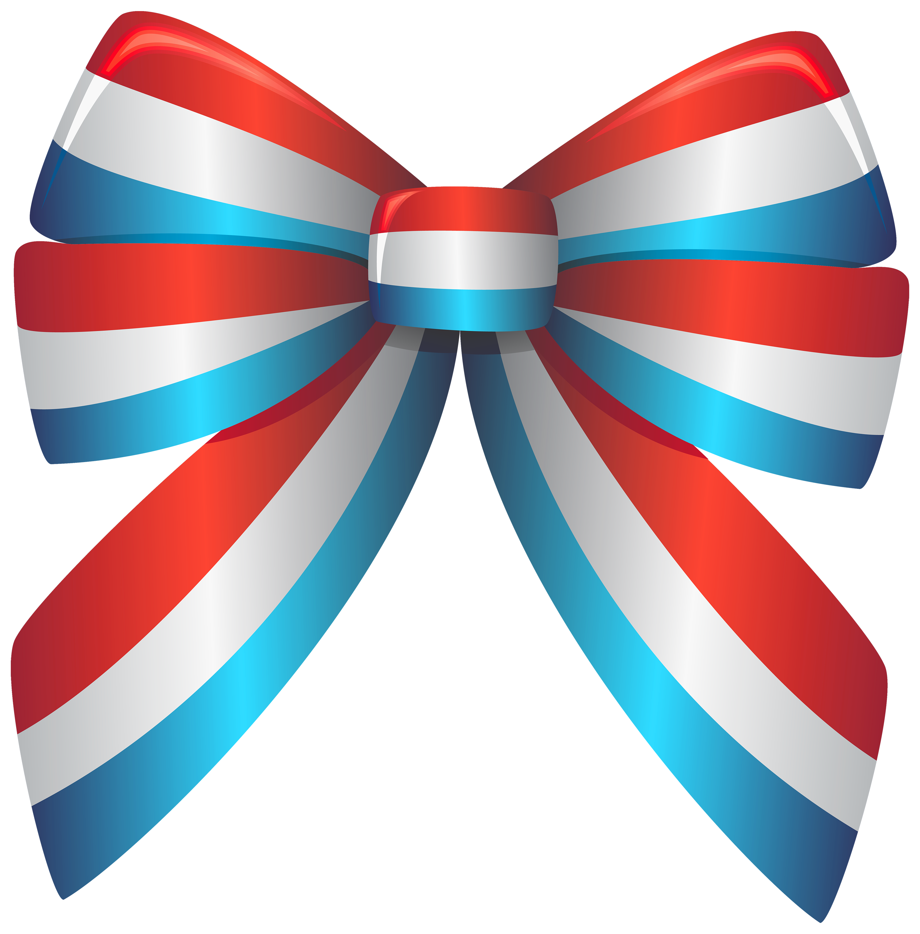 Clipart balloon ribbon. Red white and blue