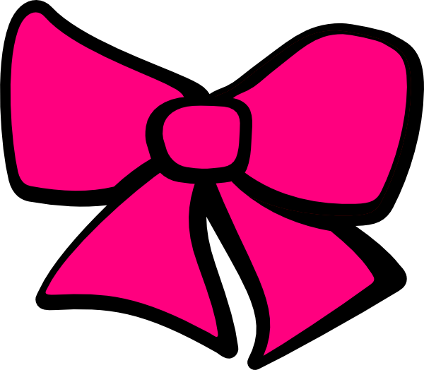 Image of bows clip. Glitter clipart cute pink bow