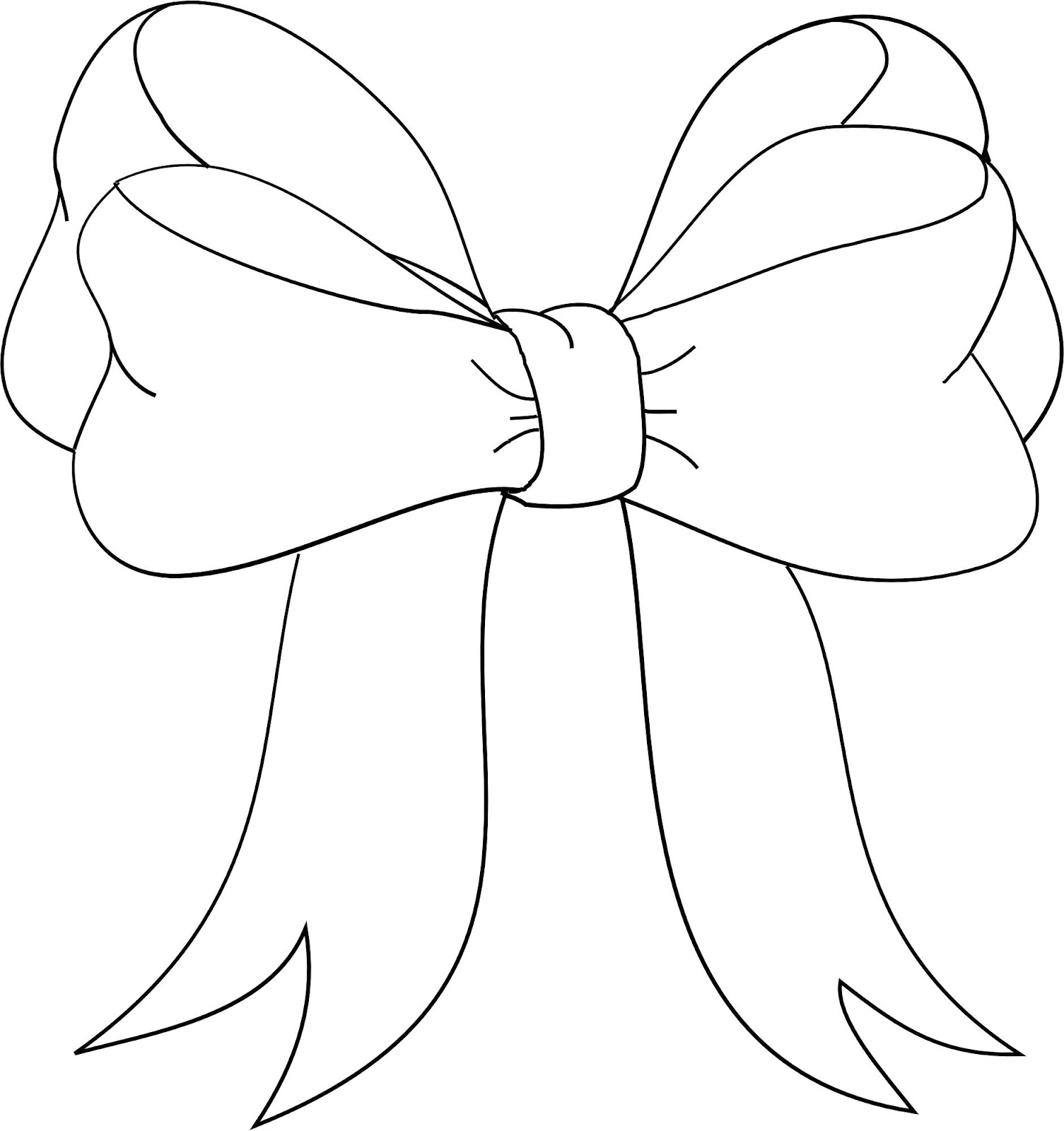 Bows clipart line drawing.  collection of bow