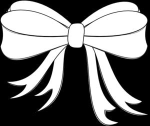 Bows clipart line drawing. Ribbon at getdrawings com