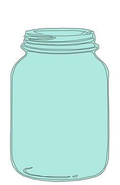 Free mason clip art. Jar clipart print