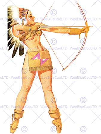 Bows clipart native american. Amazon com painting sexy