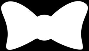 Bow clipart outline. Clip art vector online