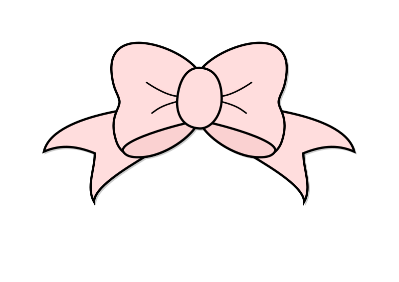 Medium image png . Bow clipart pink