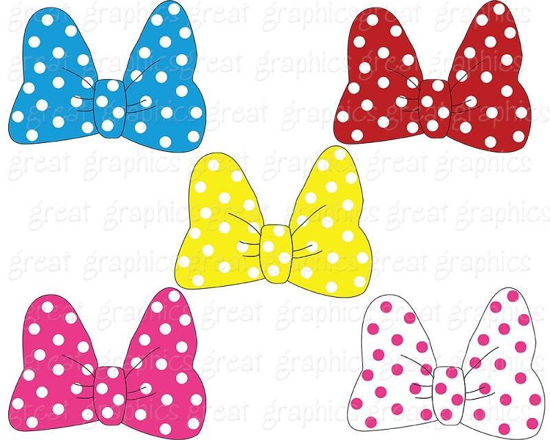 Bows clipart printable. Mouse bow clip art