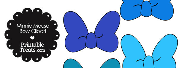 Minnie mouse in shades. Bow clipart printable