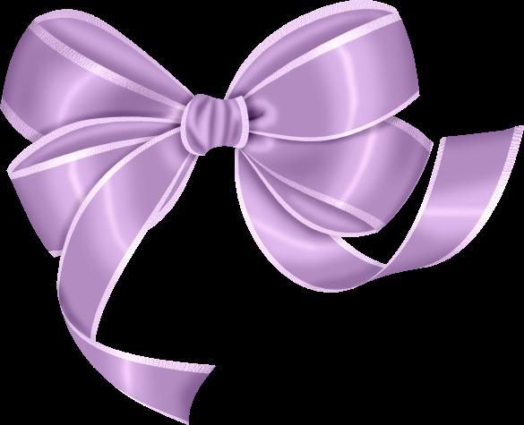 Purple . Clipart bow large