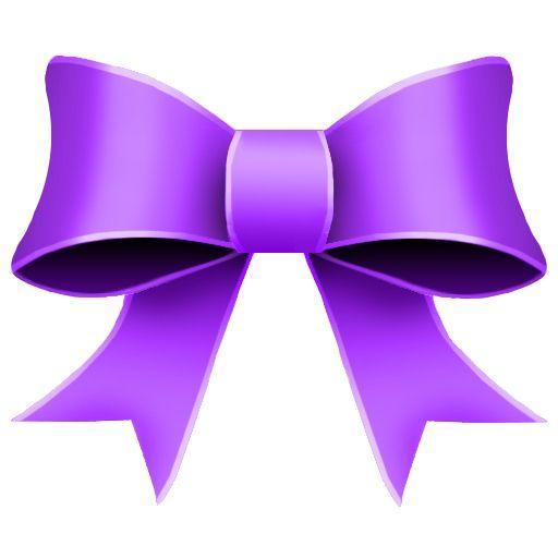 Bows clipart purple. Bow bowz christmas icons