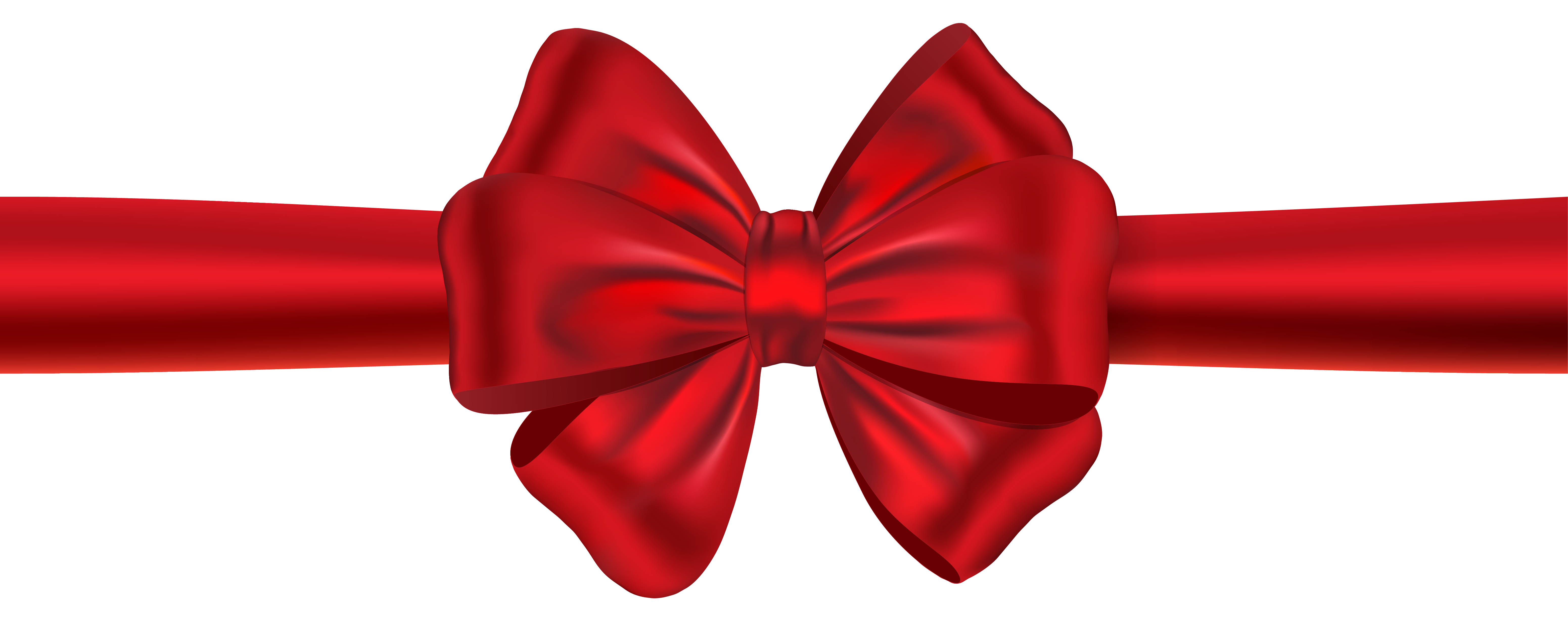 Bows clipart ribbon. Red with bow png