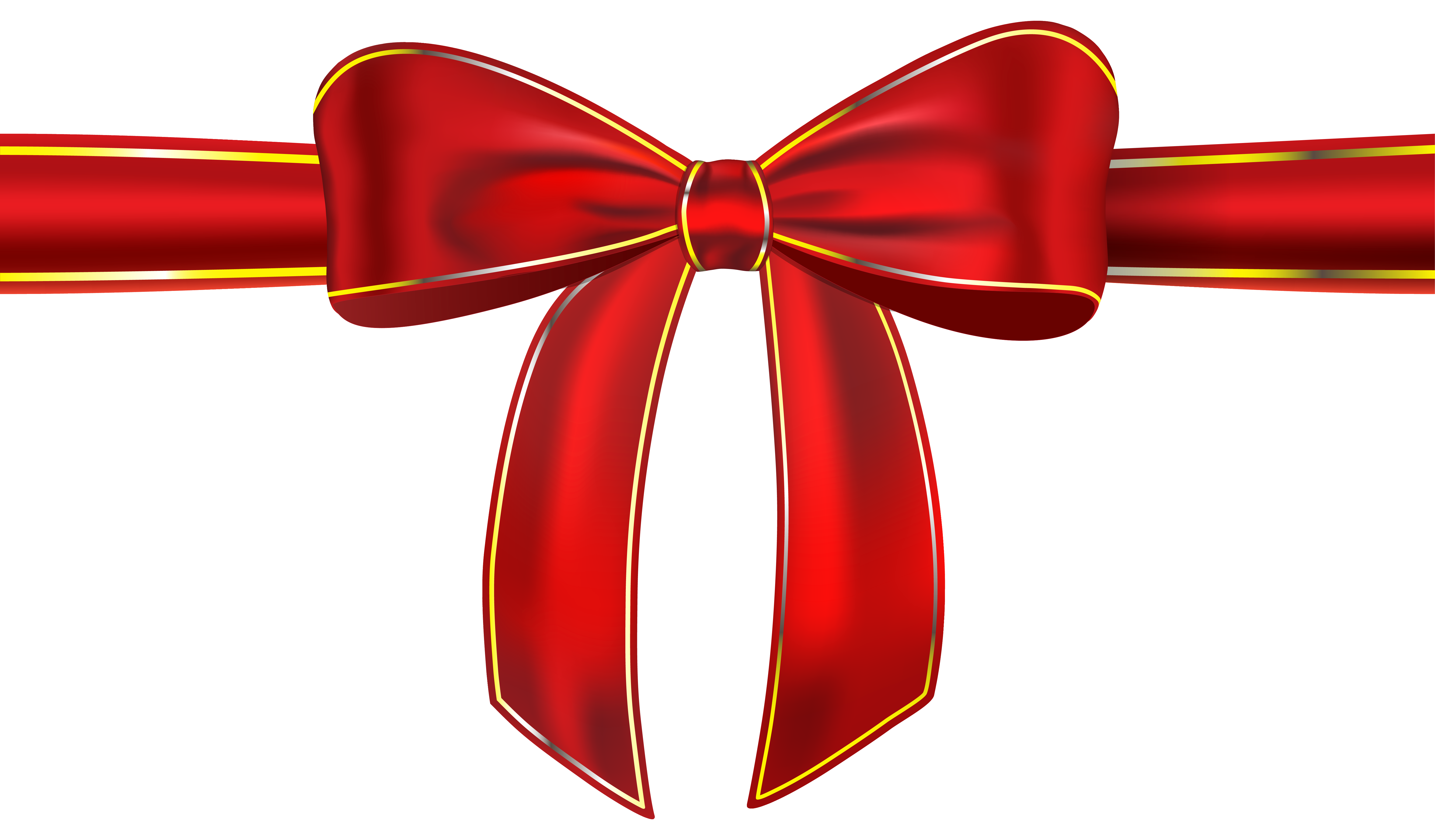 Clipart bow gift bow. Red ribbon with png
