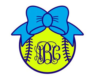 Bows clipart softball. Silhouette at getdrawings com