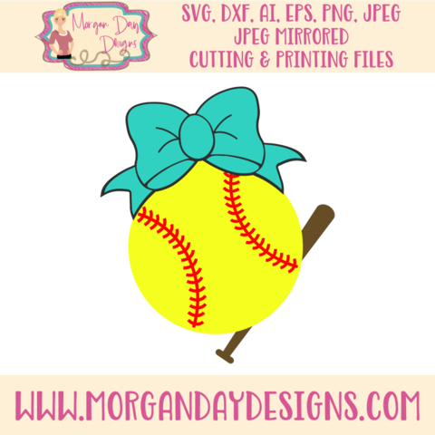 Bows clipart softball. Svg clip art and