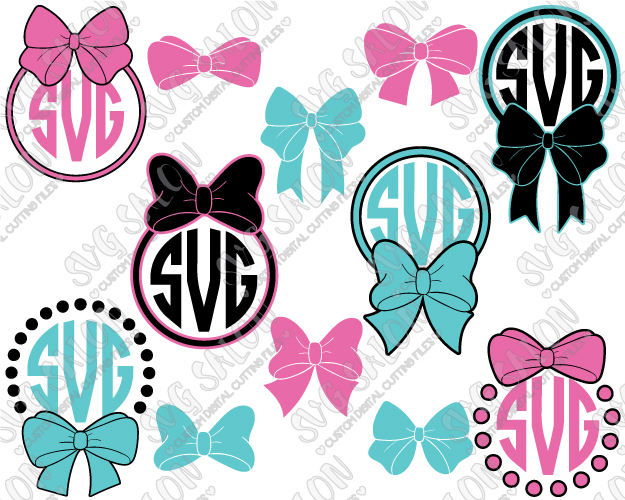 Bows clipart southern. Polka dot bow circle