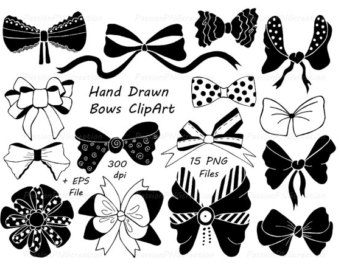 Bows clipart southern. Watercolor waves borders clip
