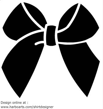 Bows clipart silhouette.  best svg images