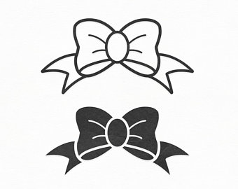 Bow svg etsy . Bows clipart file