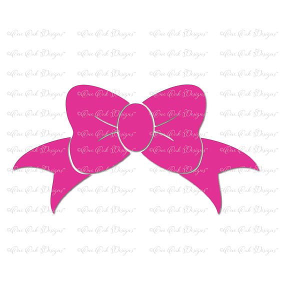 Bow file dxf pdf. Bows clipart svg