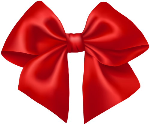 Red ribbon png la. Bows clipart transparent background