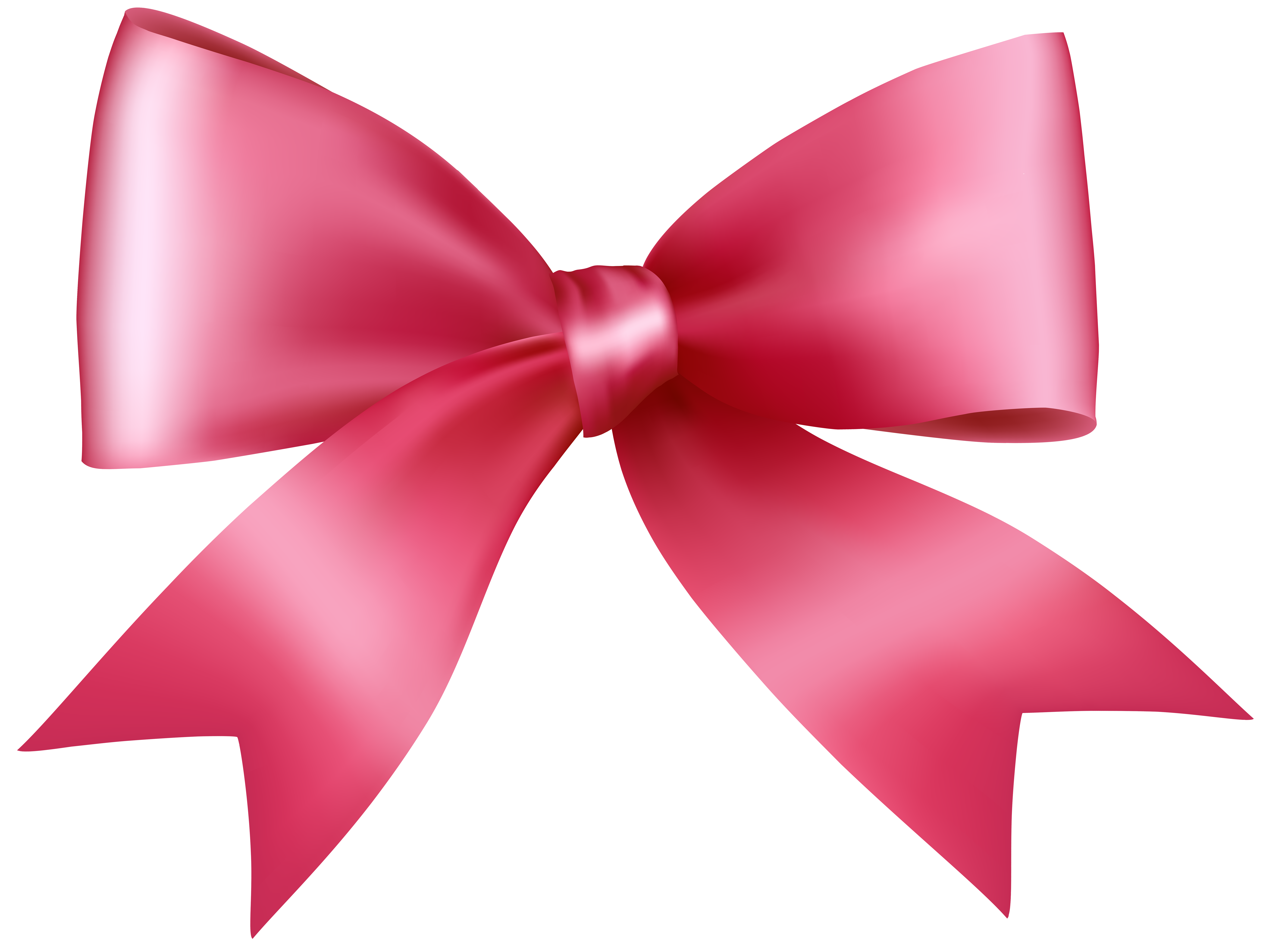 Bows clipart transparent background. Pink bow png clip
