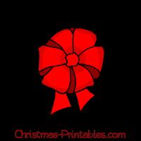 Free christmas bow. Bows clipart xmas