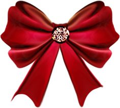 Christmas red bow clip. Bows clipart bowknot