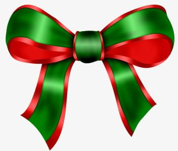 Christmas png . Bow clipart xmas