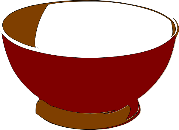 Clip art at clker. Bowl clipart