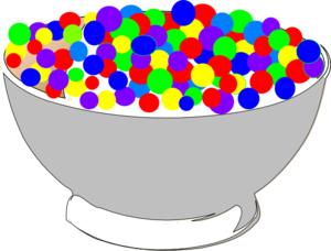 Cereal clipart file. Bowl of colorful clip