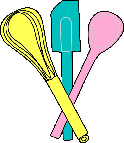 Baking utensils at clker. Soup clipart clip art