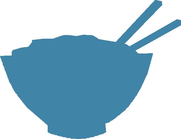 Clip art at clker. Bowl clipart blue bowl