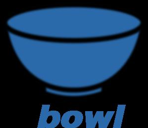 Bowl clipart blue bowl. Clip art vector panda