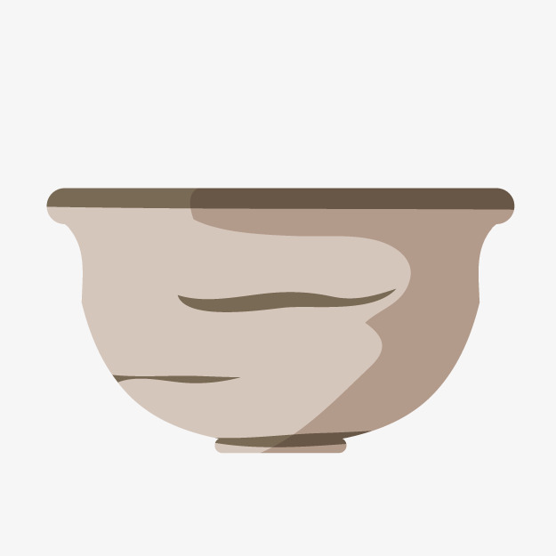 Ceramic on container png. Bowl clipart cartoon